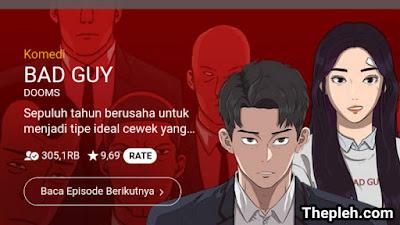 Webtoon Bad Guy