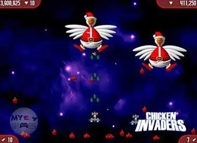 شرح عن لعبة Chicken Invaders 2 مجانا