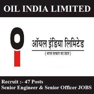 Oil India Limited, OIL, Assam, Senior Engineer, Senior Officer, Graduation, freejobalert, Sarkari Naukri, Latest Jobs, oil logo
