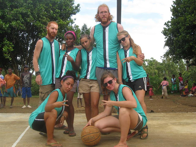 southeast madagascar peace corps volunteers basketball amporoforo