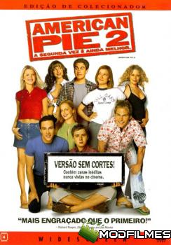 Capa do Filme American Pie 2: A Segunda Vez é Ainda Melhor