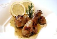 Receta : Muslos de Pollo marinados con Miel y Limón
