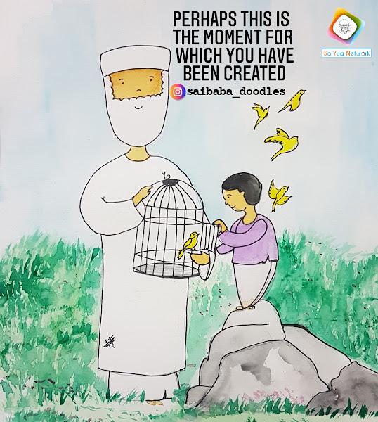 Sai Baba Doodles - Exclusive Showcase By Sai Yug Network.com
