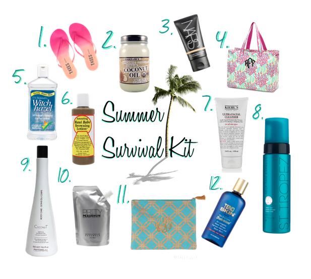 essentials for surviving summer