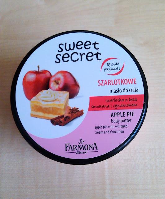 Szarlotkowe masło do ciała Sweet Secret