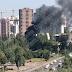Голосіївські вогнеборці ліквідували пожежу неподалік іподрому