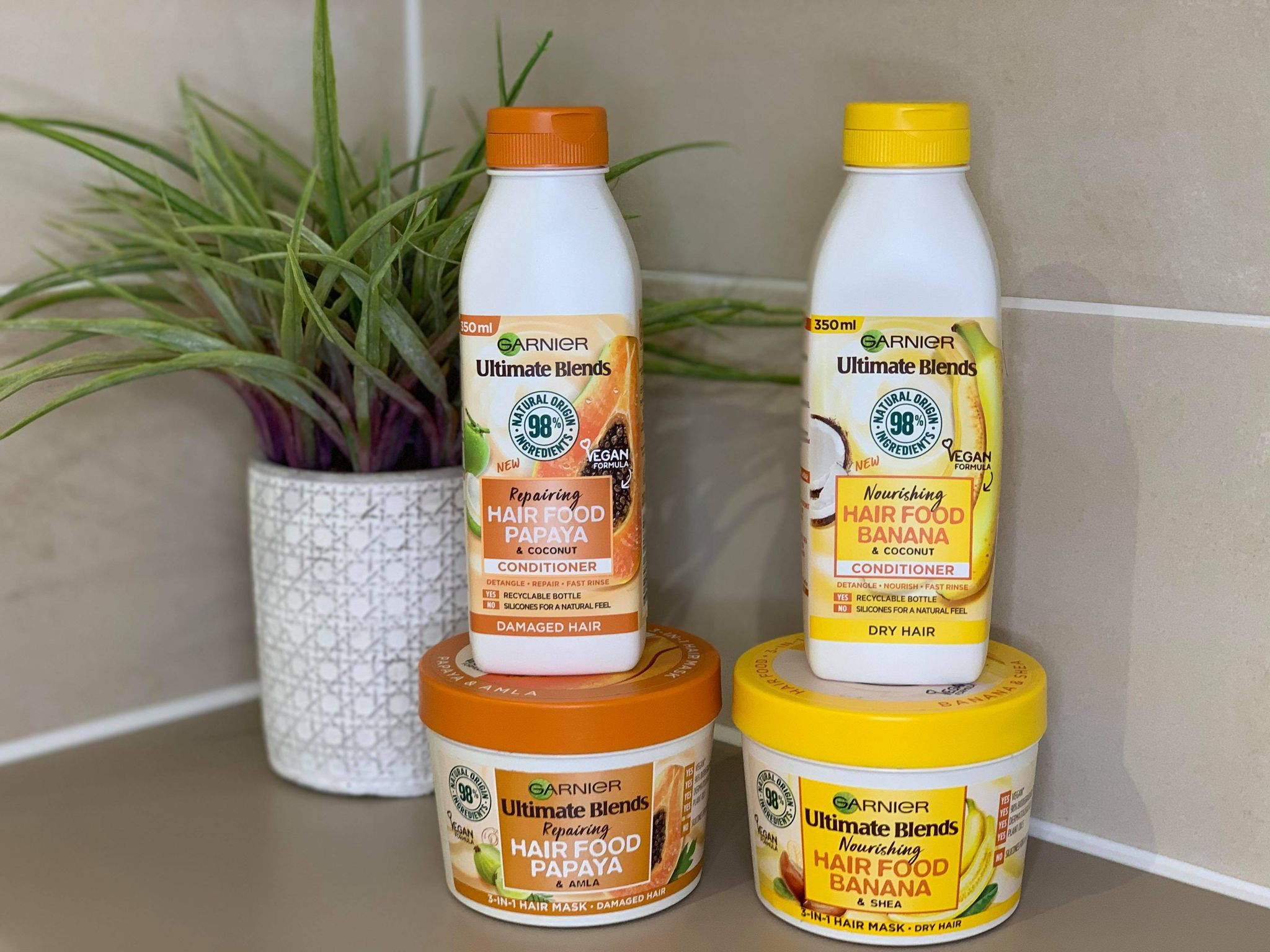 Garnier Hair Food Review