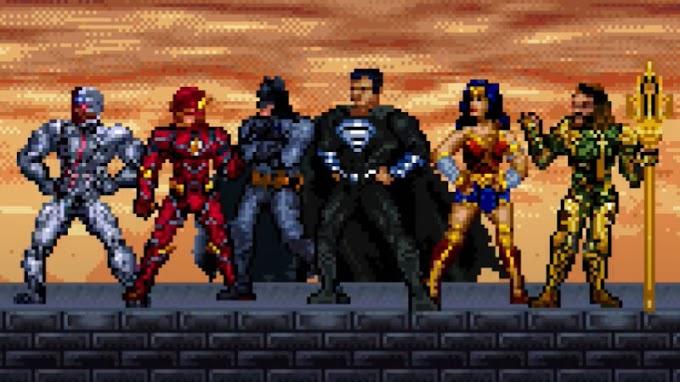 Liga da Justiça Snyder Cut | Confira o trailer em versão 16 bits