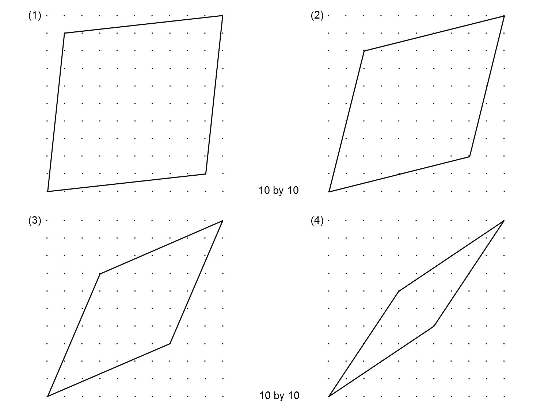 Median Don Steward Mathematics Teaching Rhombus Area
