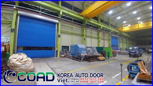 Cửa cuốn tốc độ cao, cửa đóng mở nhanh, cửa tự động, High speed door, COAD