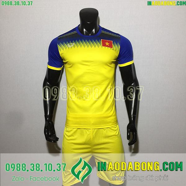 Áo bóng đá đội tuyển Việt Nam training màu vàng