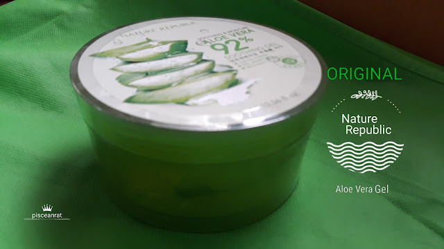 10 Tips to Spot Original Nature Republic 92% Aloe Vera Gel