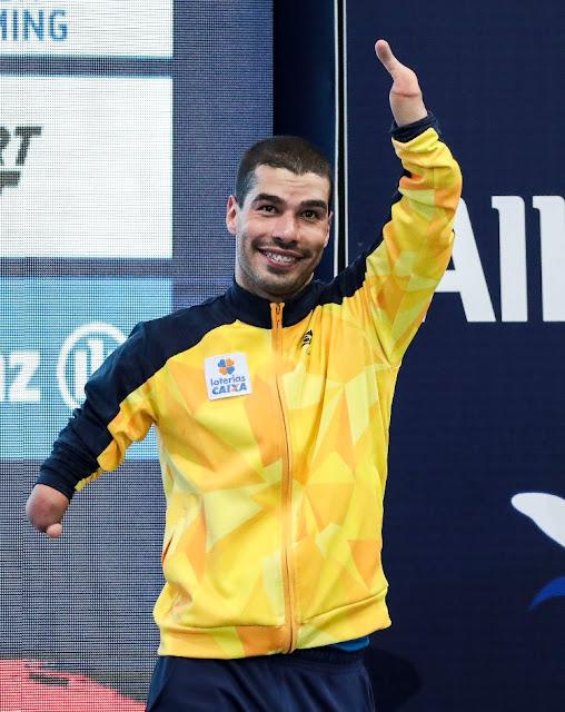 Daniel Dias é o maior medalhista paralímpico do Brasil