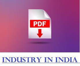 Industry In India Gujarati PDF File / Bharat Ma Udhyog Kshetra