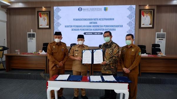 KPw BI Pematangsiantar dan Kabupaten Batubara Bersinergi dalam Penguatan Ekonomi