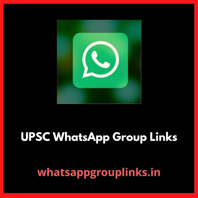 UPSC WhatsApp Group Links