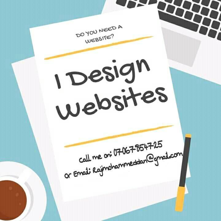 Need A Website Designer?