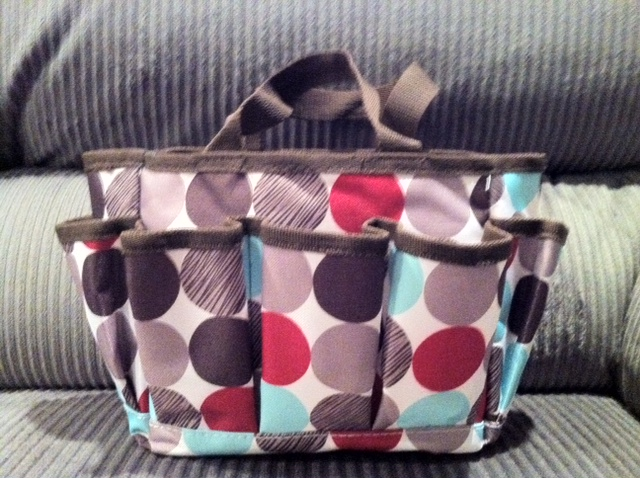 fda98aba8c Thirty One Mini Organizer Tote  Review   Giveaway