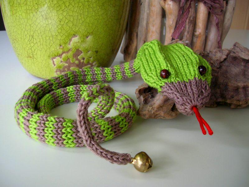 Fliegenpilzle Strick Dir Eine Schlange
