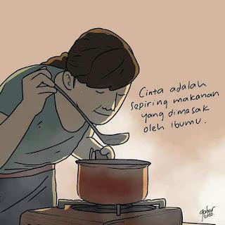 Bunda memasak