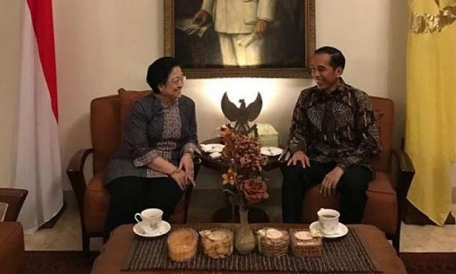 jokowi, megawati, pilpres, 2019, politik