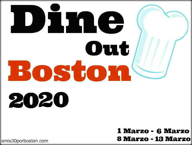 Boston Dine Out Marzo 2020
