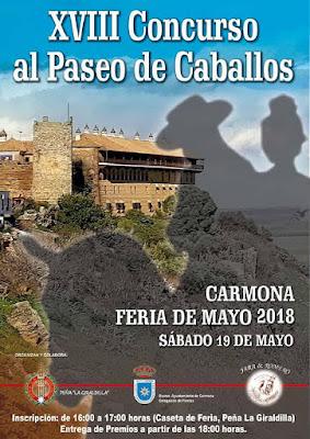 Carmona - Feria 2018 - Concurso Paseo de Caballos