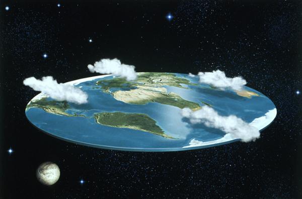 Outro pensamento sobre a Terra Plana
