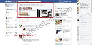 Tanda Tampilan Baru Facebook