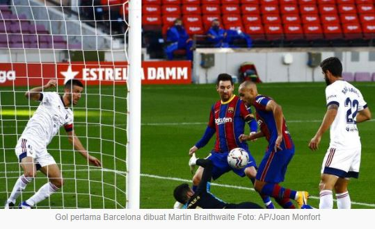 Barcelona vs Osasuna 4–0 Highlights