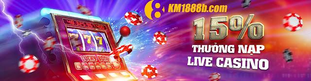 thưởng nạp casino nhà cái 888b