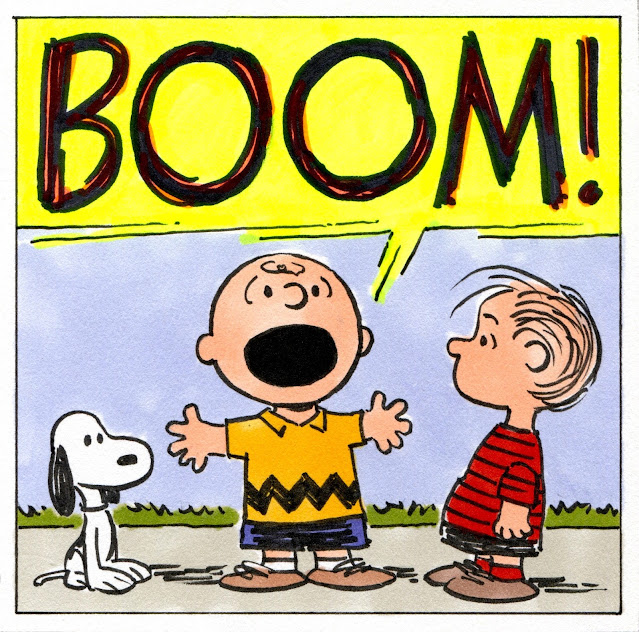 Charlie Brown Boom!