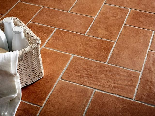 pavimento effetto rustico