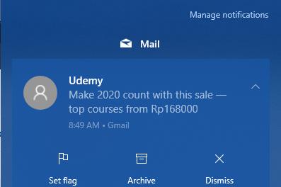 Cara Menghilangkan Iklan Notifikasi Windows 10