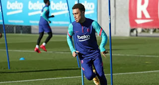Barceloan right-back Sergino Dest rejoins group training, possible to return against Granada