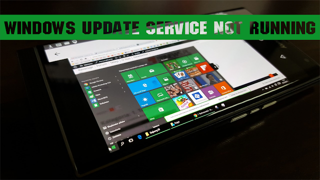Cara Memperbaiki Windows Update Service Not Running Pada Windows 10
