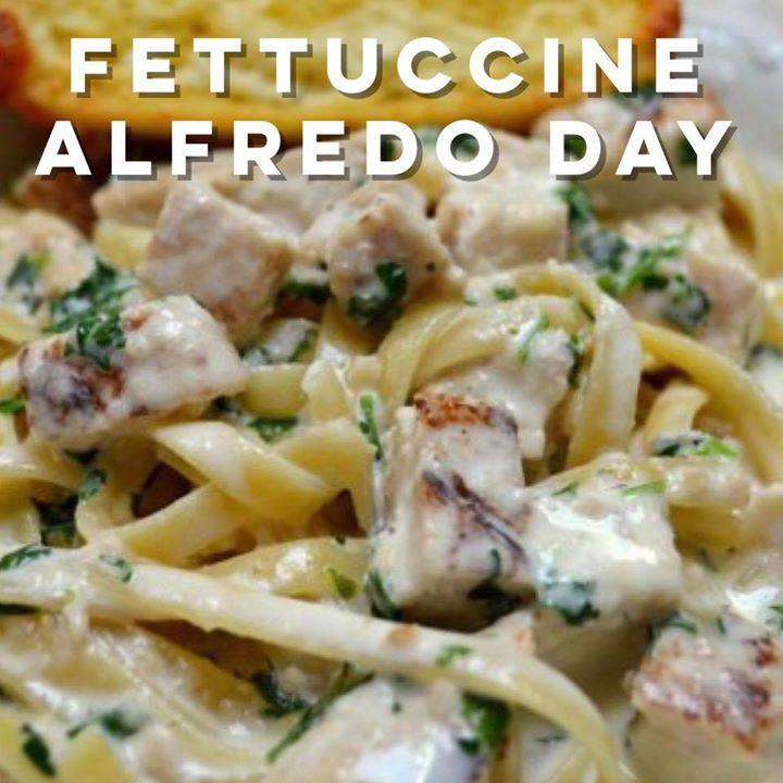 National Fettuccine Alfredo Day Wishes For Facebook