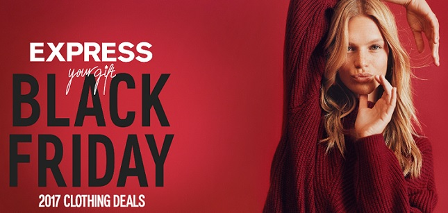 Express Black Friday fashion