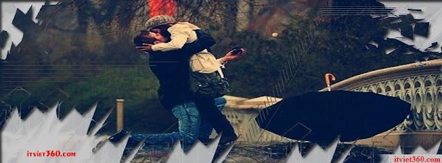 Ảnh bìa lãng mạn cho Facebook - Cover FB romantic timeline, niềm vui khi gặp lại người yêu