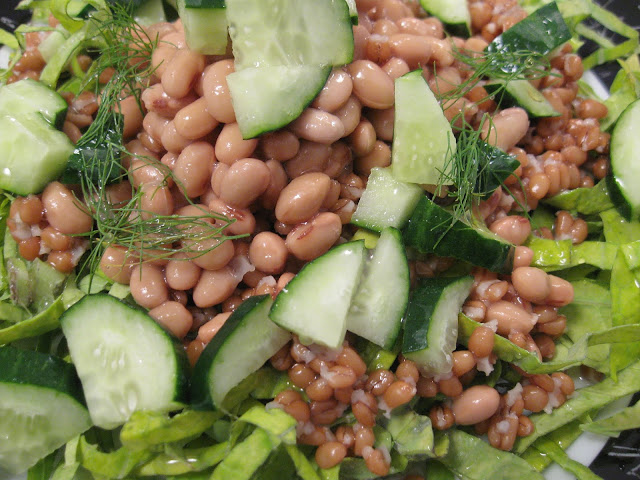como fazer salada de soja receita