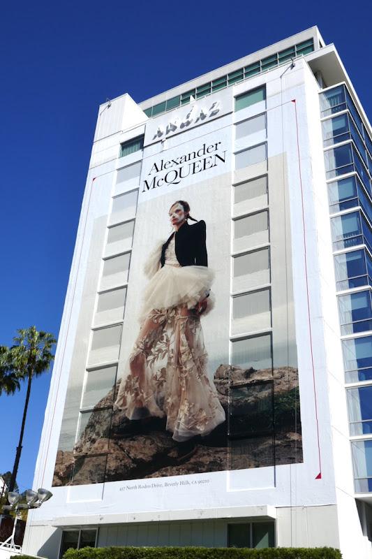 Alexander McQueen Spring 2020 billboard