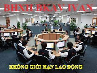 BKAV IVAN - Không giới hạn số lượng lao động