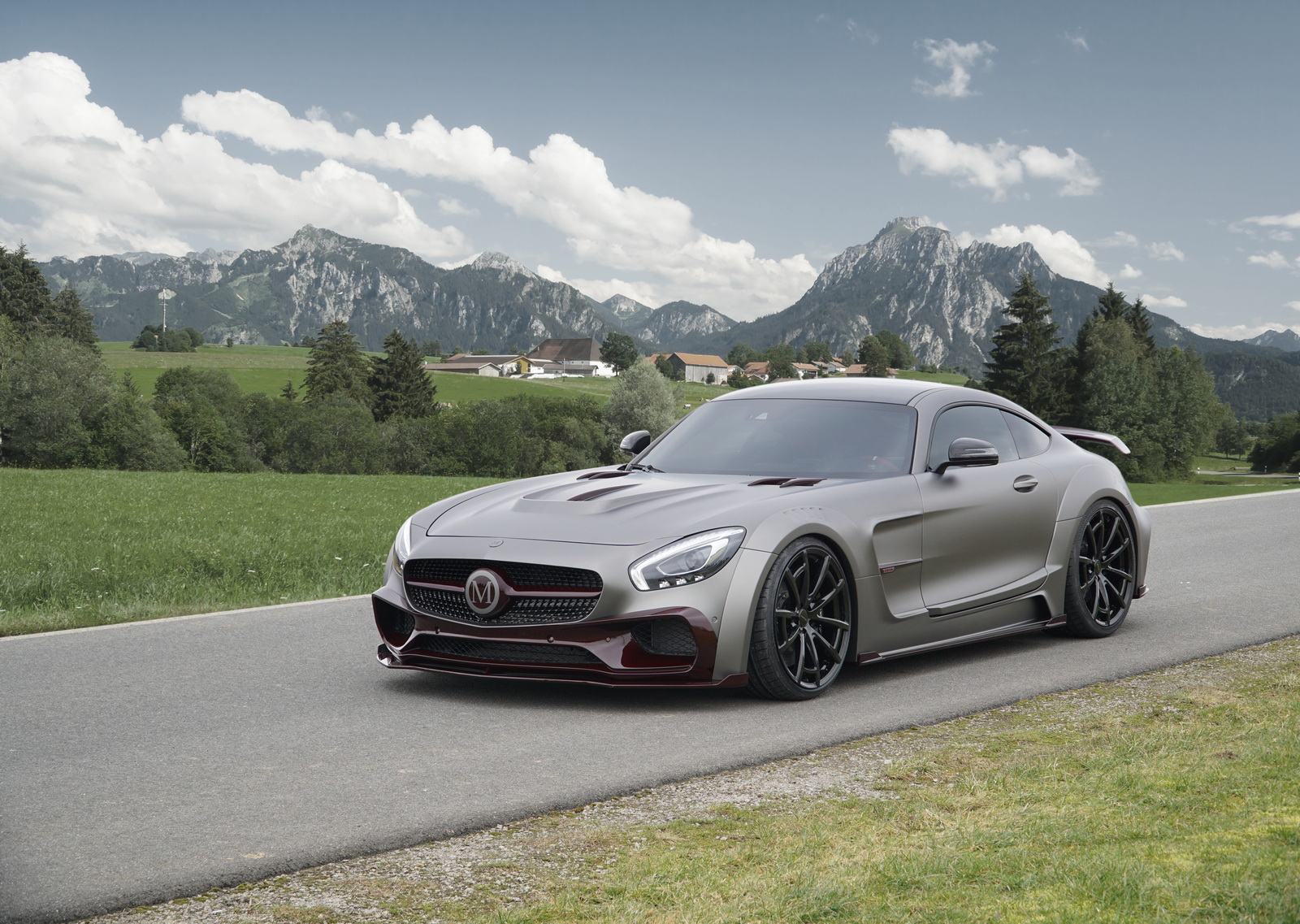 mansory s mercedes amg gt s is a 1 2 meter wider 720hp beast. Black Bedroom Furniture Sets. Home Design Ideas