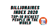 Billionaires Index 2020: Here Are the Top 10 Richest People in the World