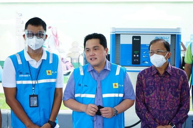 Utang Segunung, Erick Thohir Khawatir Nasib PLN Bakal Kayak Garuda Indonesia