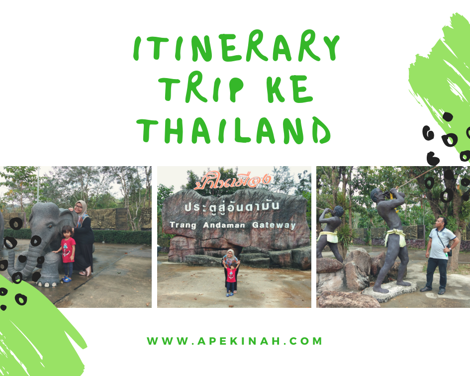 Itinerary Trip ke Thailand