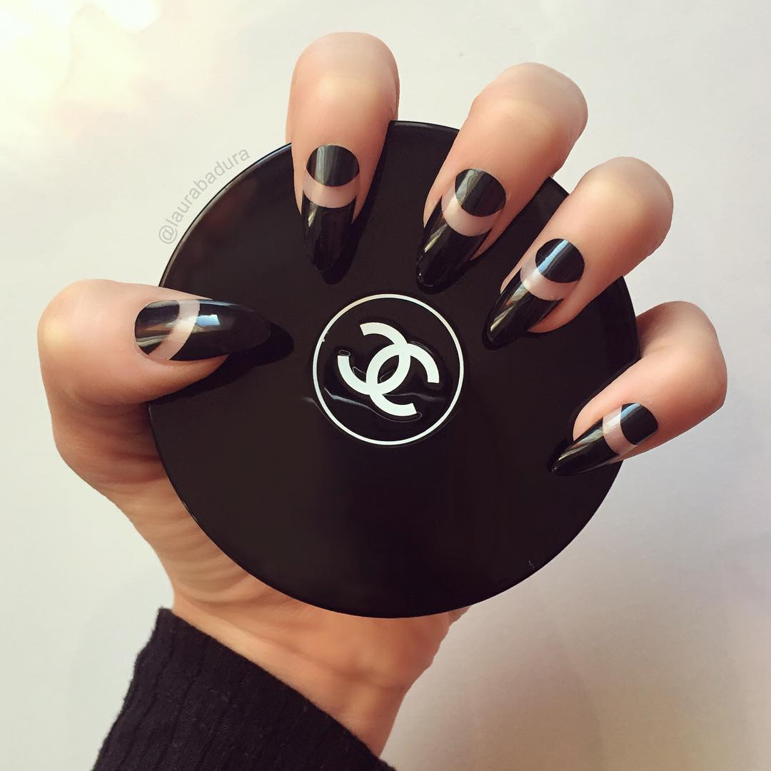 Love Nail Art: DIGS And SKIMS: NATTY NAILS: Just Because We Know You Love