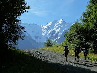Tour del Mont Blanc Col de Voza