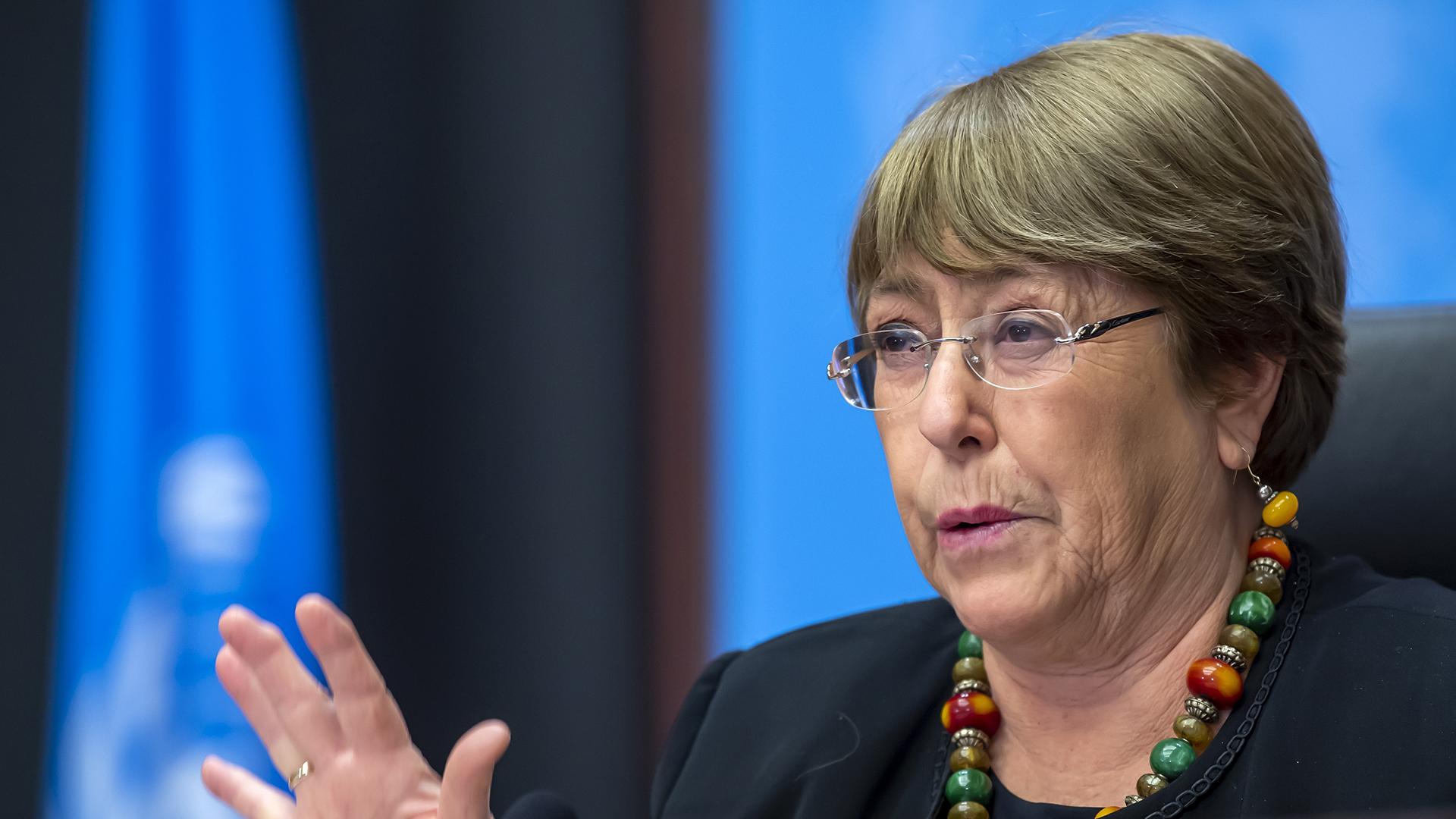"""Michelle Bachelet exigió a Nicaragua a """"liberar"""" a opositores """"arbitrariamente"""" detenidos"""