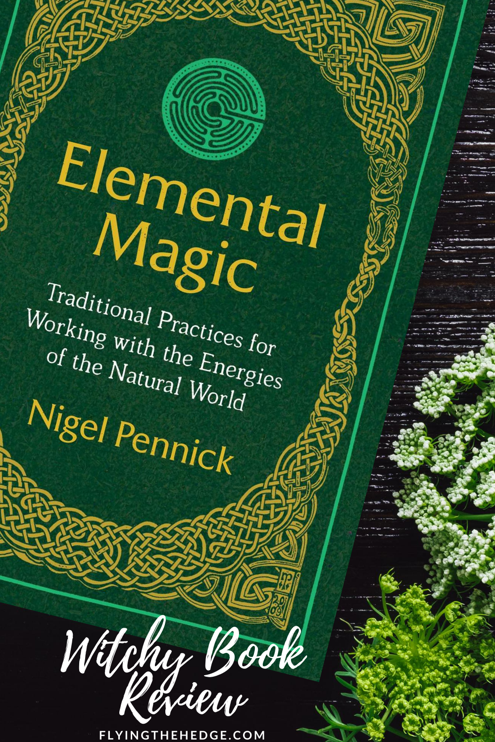 book review, witchy book review, elemental magic, Nigal Pennick, witchcraft, wicca, wiccan, witch, witchy, book, reading, pagan, neopagan
